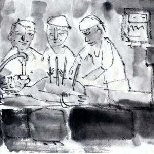 九度山暮らしのある日、ある日、突然、ガン患者になってしまった話−3、いよいよ手術へ。
