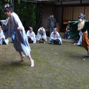 九度山暮らしのある日、古澤、厳島神社の「恵比寿のお渡り」神事を見た。