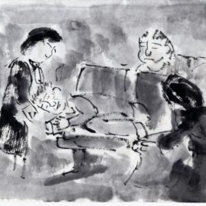 ルアンパバーン、ビエンチャン、バンコクの旅−96、機内にてCAさんの神対応。