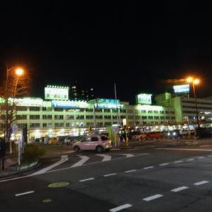 雪の新潟紀行、北越秋山郷を尋ねる旅ー21、新潟駅あたり。