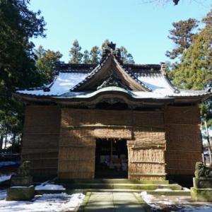 雪の新潟紀行、北越秋山郷を尋ねる旅ー28、村上、藤基神社に詣る。