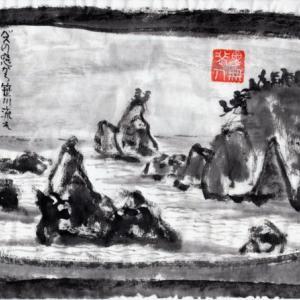 雪の新潟紀行、北越秋山郷を尋ねる旅ー31、村上から寒川まで「笹川流れ」路線バスの旅。