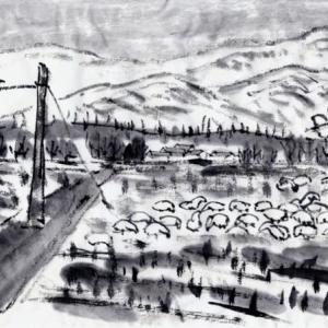雪の新潟紀行、北越秋山郷を尋ねる旅ー41、もう一度瓢湖へ。