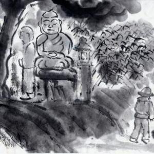 時々、奈良遊、岩船寺、浄瑠璃寺、当尾の里あたりを廻る−07、野仏巡りへ、唐臼の壺。