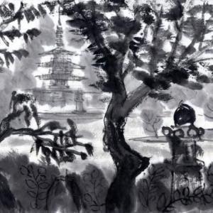 時々、奈良遊、岩船寺、浄瑠璃寺、当尾の里あたりを廻る−09、ありがたや浄瑠璃寺。