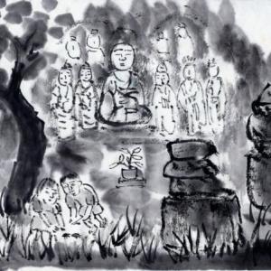 時々、福岡遊、ついでに大分、佐賀をかすめて−13、石造五輪塔と山王山石仏。