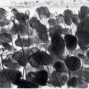 時々、福岡遊、ついでに大分、佐賀をかすめて−16、臼杵石仏群、公園で蓮に出会う。