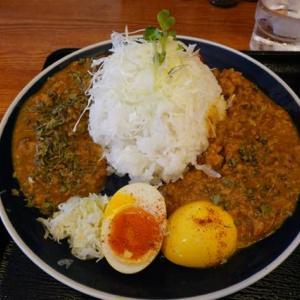 時々、福岡遊、ついでに大分、佐賀をかすめて−23、大阪、針中野、「火入れ研究所」でカレーを食って帰る。