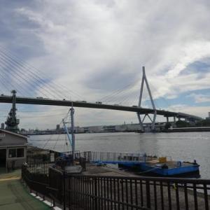 大阪遊、今に残る8つの渡船を全部歩いて巡って見る。02ー桜島から天保山渡船へ。