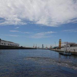 大阪遊、今に残る8つの渡船を全部歩いて巡って見る。08ー船町渡船を渡る。