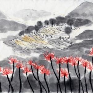 三重遊、丸山千枚田、赤木城と熊野古道の旅−08,丸山千枚田に向かう。