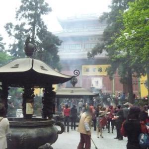 コロナ引き籠り。杭州絵画留学の日々が懐かしい。−21、古刹、「霊隠寺」へ行って見る。