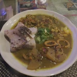 最近和食系のカレーが気に入ってる。大阪、北浜、「Sally Curry (サリーカリー)」。