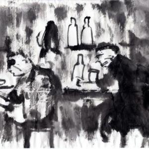 妄想居酒屋、「小料理店○○○」の想い出。006−妖しい客も居る。