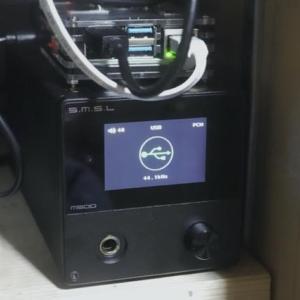 Raspi4bを使ってミュージックサーバーらしきものを作った話−05、RaspiにUSB-DACを繋いだ話。