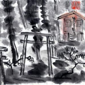 熊野古道の旅、中辺路をちょろっと。−10、発心門王子へ。