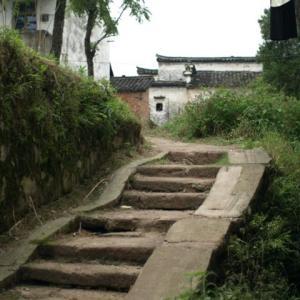 コロナ引き籠り。杭州絵画留学の日々が懐かしい。−37、諸葛八卦村、「丞相祠堂」。