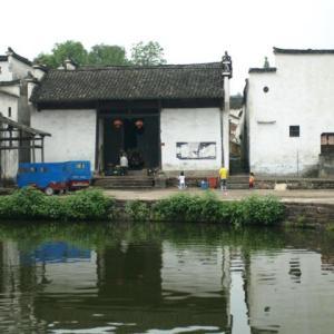 コロナ引き籠り。杭州絵画留学の日々が懐かしい。−38、諸葛八卦村、鐘池へ。