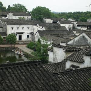 コロナ引き籠り。杭州絵画留学の日々が懐かしい。−39、諸葛八卦村、高台に上る。