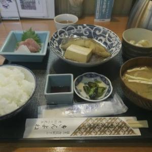 京都、西院、「きんよね」の和食ランチ。