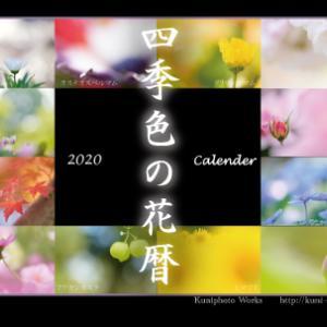 2020年『四季色の花暦』カレンダー販売開始!