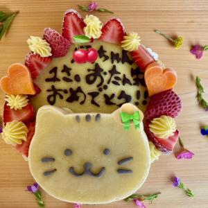 キャロブとさつまいものケーキ