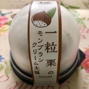【期間限定】シャトレーゼ 一粒栗のモンブランクリーム大福