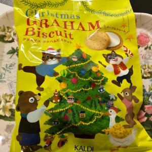 【数量限定】カルディ クリスマス グラハムビスケット メープルクリーム