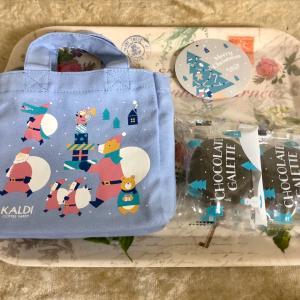 【クリスマス限定】カルディ クリスマスミニバッグ(チョコガレット入)