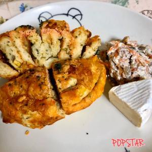 人気ベーカリー ミナトベーカリー 大葉とめんたいと きのこのじゃがいもパン