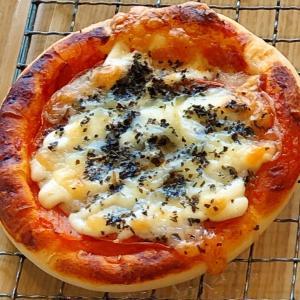 ベーカリーロボ トマトとベーコンのピザパン