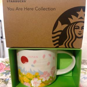 【スタバ購入品】You Are Here Collection マグ JAPAN Spring