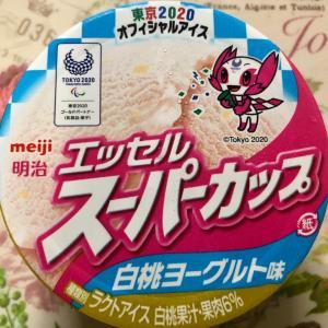 【NEW】明治 エッセルスーパーカップ 白桃ヨーグルト味