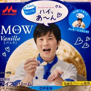 【数量限定】森永乳業 MOW バニラ 田中圭店主限定パッケージ