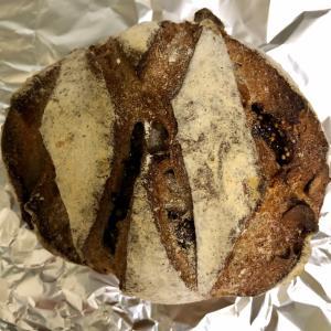 ブランジェリーイノウエ 天然酵母 無花果と胡桃のパン