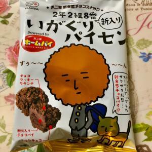 【新発売】不二家 新食感チョコスナック 新入りいがぐりパイセン