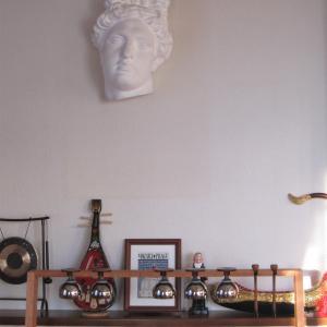 新!Myミュージックルームと楽器たち:レッスン室
