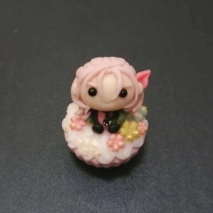 ミニチュア粘土・刀剣乱舞カップケーキ。