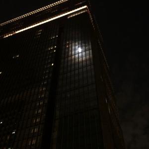 晩秋の名月