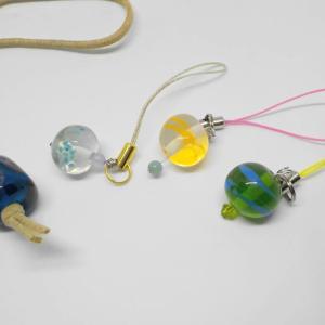 昨日の体験のお客様は、とんぼ玉手作り体験 銀とガラスのアクセサリー教室工房銀 岡山県赤磐市