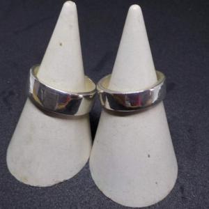 昨日の体験のお客様は、シルバーリング手作り体験 銀とガラスのアクセサリー教室工房銀 岡山県赤磐市