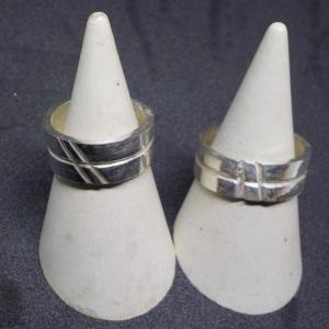 おとといの体験のお客様は、シルバーリング手作り体験 銀とガラスのアクセサリー教室工房銀 岡山県赤磐市