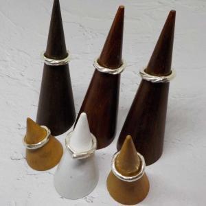 7/23の体験のお客様は、シルバーリング手作り体験 銀とガラスのアクセサリー教室工房銀 岡山県赤磐市