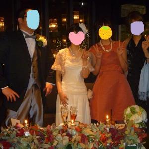 友だちの結婚式