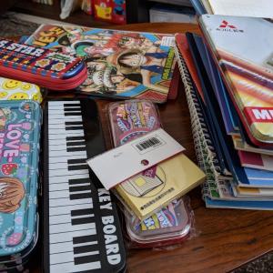 【吉田 様】より64個の文房具が届きました