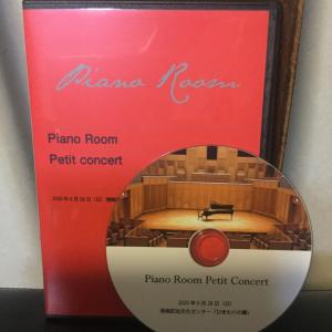pianoroom petit concert DVD出来た!