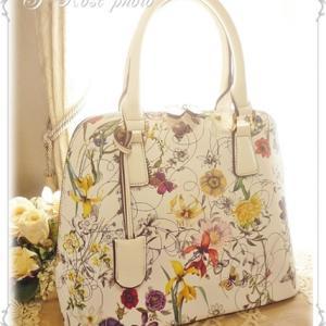 ☆野の花いっぱい♪ペレンネのバッグ☆*:..。o○☆