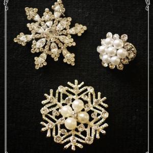 ☆雪の結晶コレクション&私の好きな雪の歌☆