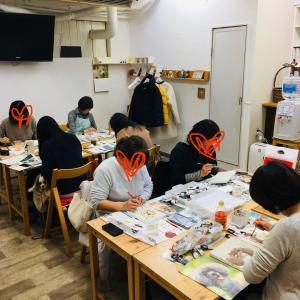 1/25は駒沢教室でした。