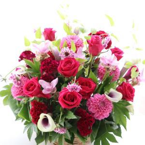 お誕生日の生花アレンジメント